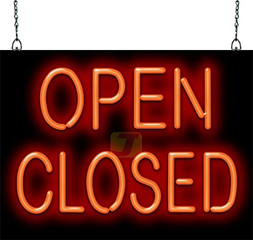 Open-Closed Neon Sign (Closed Neon Sign)