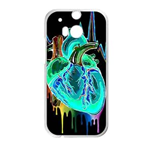 The Creative Brain HTC One M8 Cell Phone Case White KT9390979