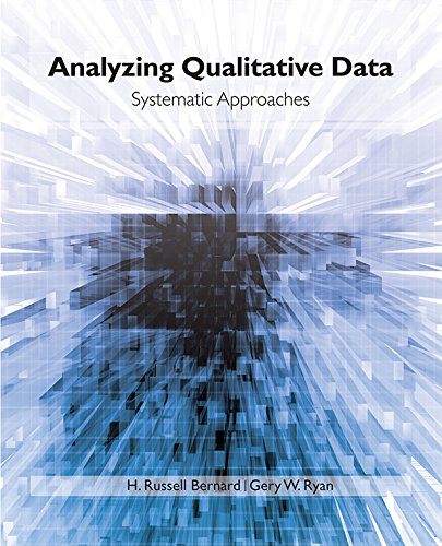Analyzing Qualitative Data: Systematic Approaches Pdf