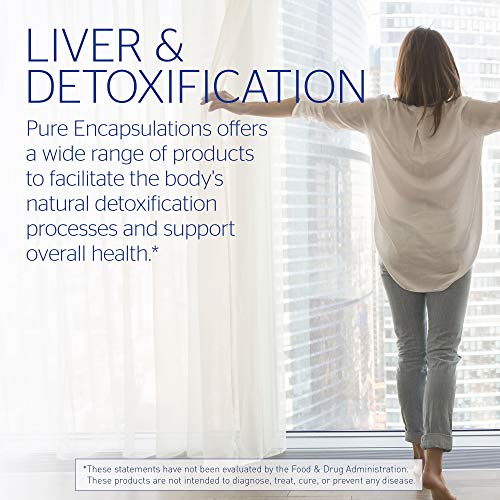 Pure Encapsulations - LVR Formula - Hypoallergenic Supplement with Antioxidant Support for Liver Cell Health* - 120 Capsules by Pure Encapsulations (Image #4)