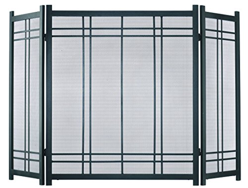 Pleasant Hearth Preston Fireplace Screen (Panel Fireplace Screen)