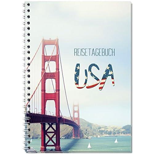 Diario de viaje (Estados Unidos/América para escribir/cuaderno A5 ...