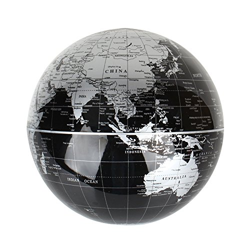 Levitation floating world map globe 8 rotating planet earth globe magnetic levitation floating world map globe 8 rotating planet earth globe ball with led desk display stand gumiabroncs Images