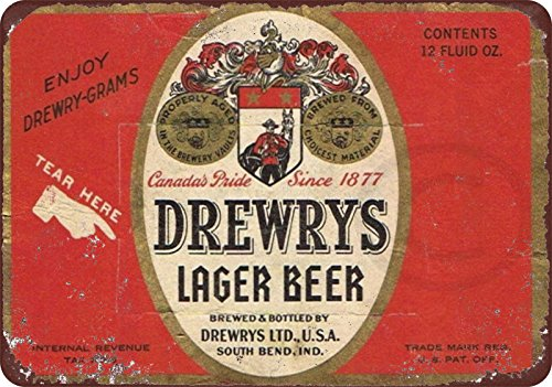 drewrys-lager-beer-reproduction-metal-sign-8-x-12