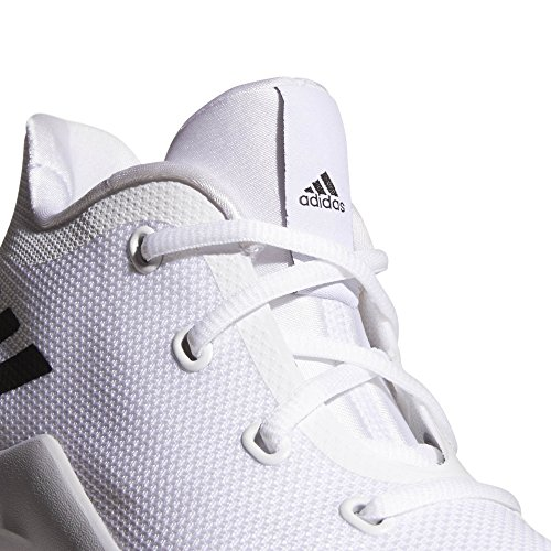 up adidas Adults' K Ftwbla Grpulg Unisex White Shoes Basketball 000 Rise 2 Negbas ptpqSa5rw