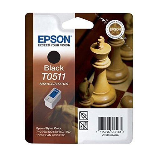 2 opinioni per Epson Tanica Nero C13S020108/189 Blister