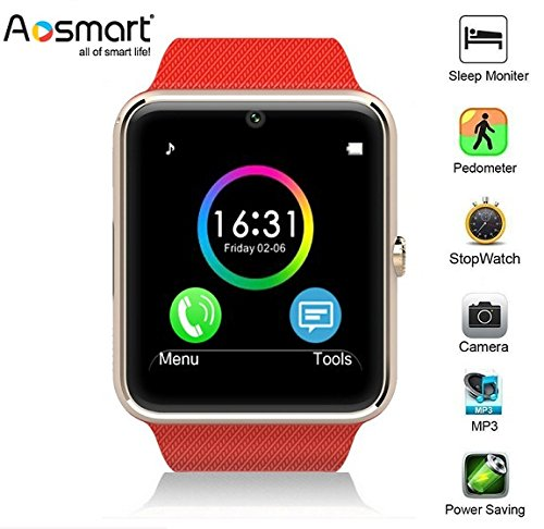 Amazon.com: Reloj inteligente Bluetooth Aosmart G88 ...