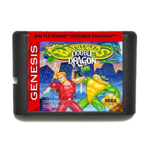 Taka Co 16 Bit Sega MD Game Battletoads And Double Dragon The Ultimate Team 16 bit MD Game Card For Sega Mega Drive For Genesis