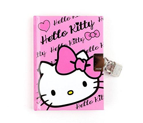 Hello Kitty Locking Diary: Pink Bow