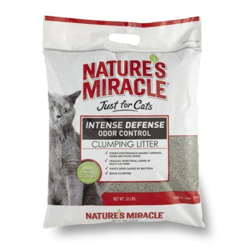 Nature' S Miracle intenso Defense Clumping Litter, 20-Pound (p-5367) by NATURE' S Miracle