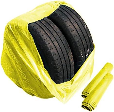 Stix 50 Große Reifensäcke Premium Reifentüten Reifenhüllen 1000x1000mm Bis 22 Zoll Auto