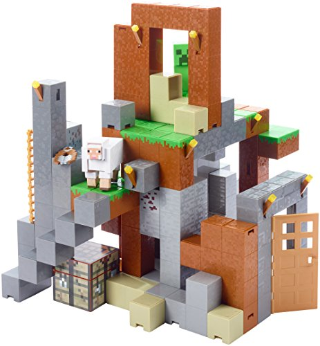 Minecraft Feature Playset Figures Creeper