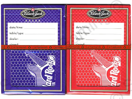 2 NEW Decks - Hard Rock Hotel & Casino Las Vegas Playing Cards