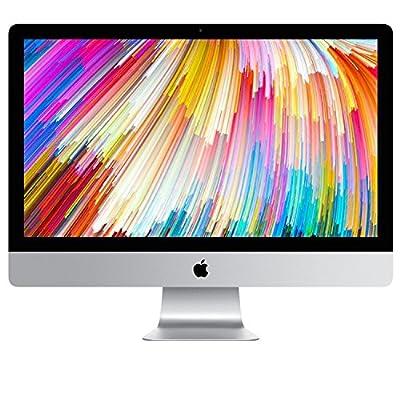 "Apple iMac 27"" Desktop with Retina 5K display - 4.2GHz quad-core Intel Core 7th-gen i7, 2TB SSD, 64GB 2400MHz DDR4 Memory, Radeon Pro 580 with 8GB video memory, macOS, (Mid 2017)"