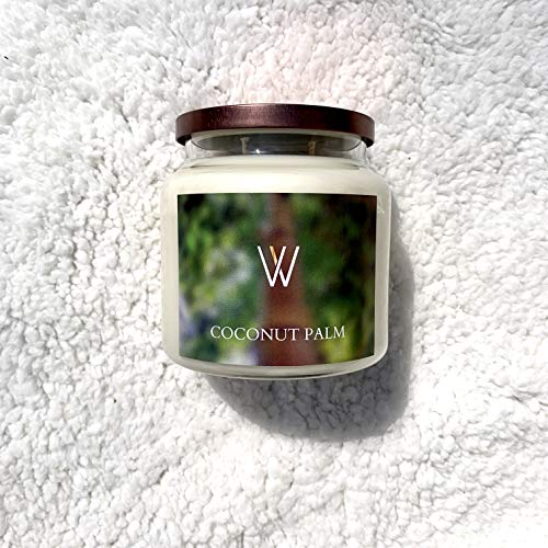 Coconut Palm Soy Candle, 16 oz
