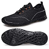 Barefoot Quick Drying Water Sports Shoes-Water Shoes Men 10.5 Aqua Socks for Swim Beach Pool Surf Yoga Outdoor Travel for Men