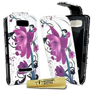Accessory Master 5055716336450 - Funda para Nokia Asha 306, color Morado