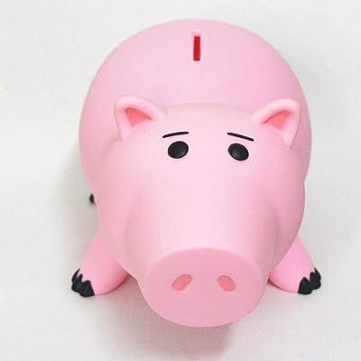 820cm Toy Story Hamm Piggy Bank Pink Pig Coin Box PVC Model Toys For Children by PJ's Toybox: Bebé
