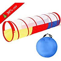 SGILE Indoor Outdoor Play Tent or Tunnel for Kid...