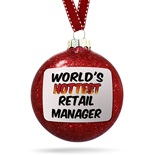 NEONBLOND Christmas Decoration Worlds Hottest Retail Manager Ornament