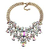 KTYX Europe and The United States Colorful Short Hollow Sweater Chain Wild 43+148cm Jewelry
