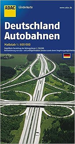 Deutschland Autobahnen Vergrosserte Darstellung Der Ballungsraume