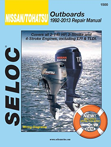 Nissan/Tohatsu Outboards 1992-13 Repair  - 2 Stroke Repair Manual Shopping Results