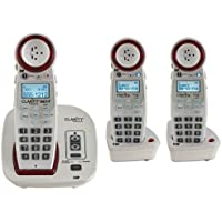 Clarity XLC3.4 Severe Hearing Loss Cordless Phone with 2 XLC3.5 Expandable Handsets