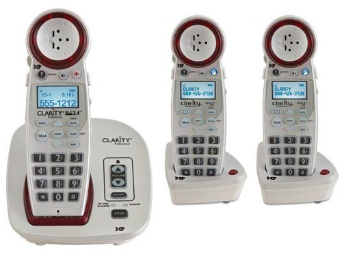 Clarity Hearing Cordless Expandable Handsets
