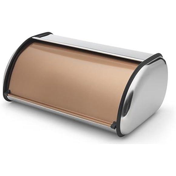 Addis Deluxe Roll Top Copper Bread Bin