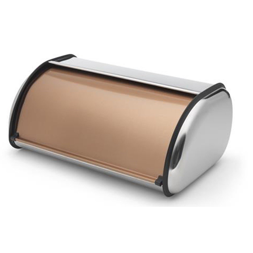 Addis Deluxe Roll Top Bread Bin, Copper by Addis 515718