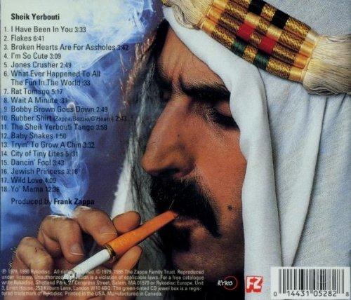 Resultado de imagen de Frank Zappa - Lp: 'Sheik Yerbouti