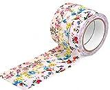 HIART HF2012 Craft Decorative Fabric Tape, 15mm, Set of 3