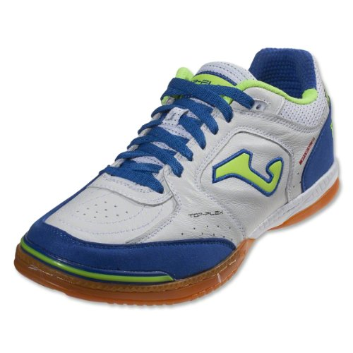 Chaussures De Football Joma Top Flex 405 White-royal Indoor