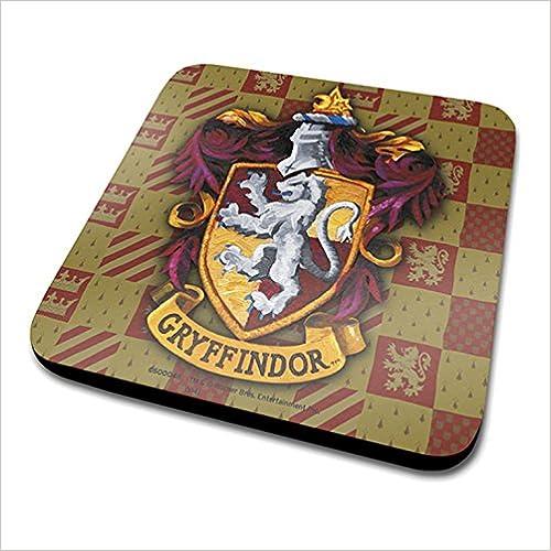 diseño del escudo del Gryffindor Harry Potter posavasos