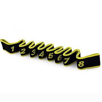 YJJSL Cinturón de Yoga para Estiramiento y rehabilitación ...