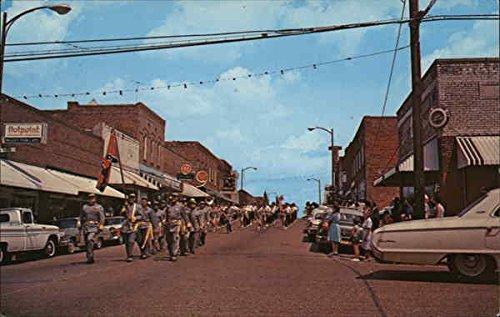 Civil War Re-enactment Baldwyn, Mississippi Original Vintage Postcard