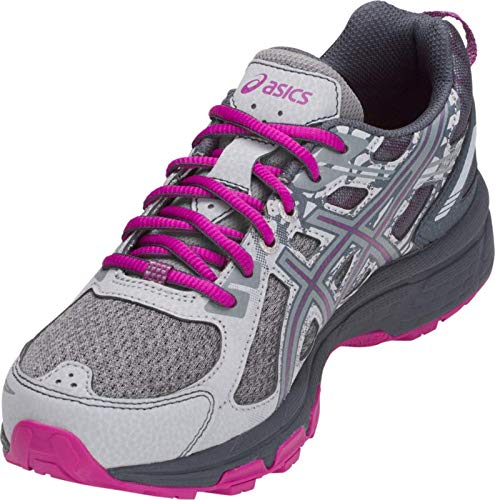 ASICS Gel-Venture 6 MX Women's Running Shoe, Mid Grey/Purple Spectrum, 5 M US by ASICS (Image #3)