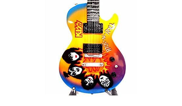 Kiss - Rock And Roll Past Midnight Tribute - Réplica Guitarra En Miniatura Exclusive: Amazon.es: Instrumentos musicales