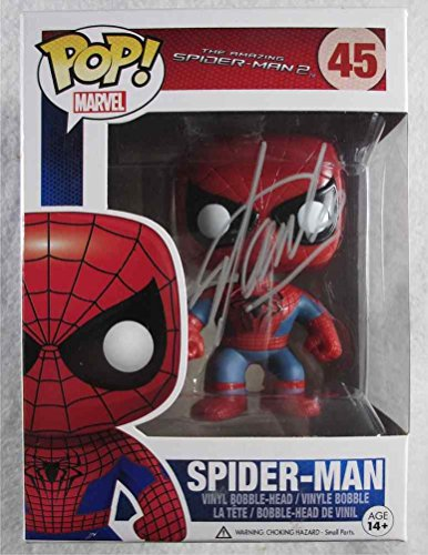 Stan Lee Spiderman Signed Funko Pop Doll Certified Authentic PSA/DNA COA