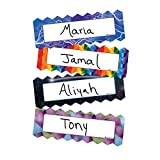 Dowling Magnets Zigzags & Lightning Magnetic Name Plates, Set of 16(DO-735215)