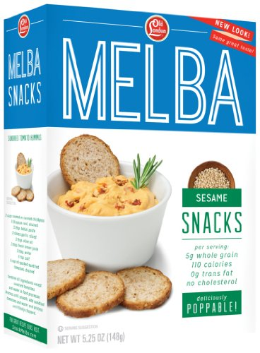 Old London, Melba Snacks, Sesame, 5.25 Ounce (Pack of - Snacks Cheese Round