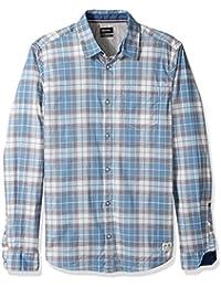 Buffalo David Bitton Men's Silury Long Sleeve Fashion...