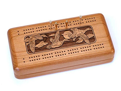 Heartwood Creations Cribbage Case with Cards - ()