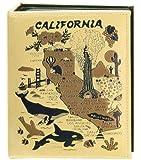 California Map Embossed Photo Album 200 Photos / 4x6