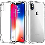 Yofo Soft Clear Ultra Thin Back Cover for Apple iPhone X/XS Back Cover (Transparent)