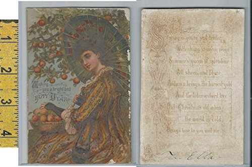 Victorian Card, 1890's, RTS Prize Exhibit Series, Picking - Exhibit Series
