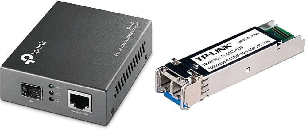 Tp Link Tl Sm311lm Gigabit Sfp Module Mc220l Gigabit Computers Accessories
