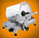 New 10'' Commercial Restaurant 240W Electric Frozen Meat Deli Food Slicer