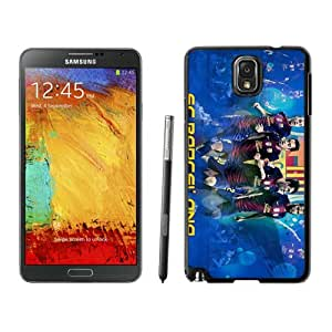 Samsung Galaxy Note 3 Case ,Unique And Fashionable Designed Case With Fc Barcelona 3 Black For Samsung Galaxy Note 3 Phone Case